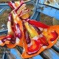 Echarpe laine et soie de maman