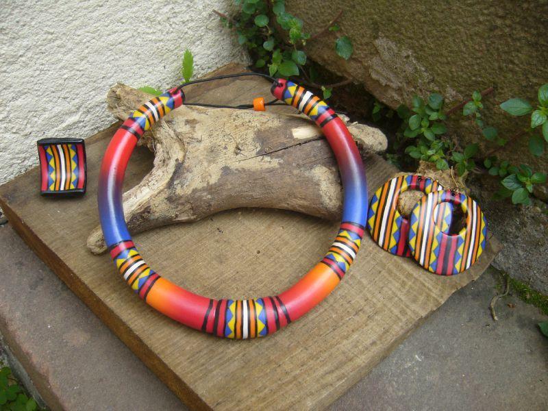 Bijoux fantaisie bois ethnique