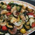 Légumes grillés au gingembre et carvi