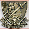 Insigne de beret du commando marine (Les commandos Kieffer)