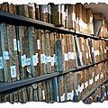 Les archives publiques...