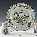 Porcelaines à décor en grisaille de la <b>Compagnie</b> des <b>Indes</b> @ DUPONT & Associés