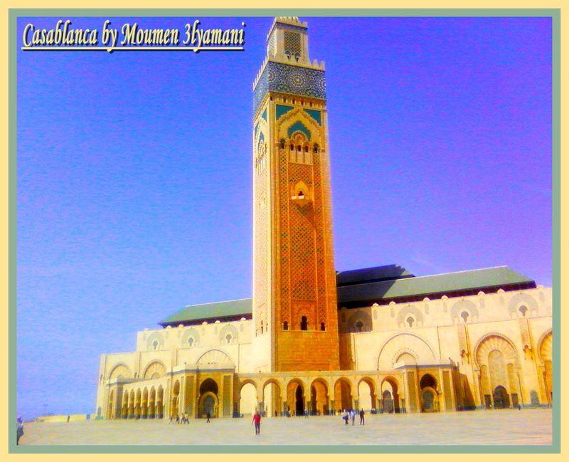 Moumen Mosquée Hassan II,Casablanca le 30 Aout 2008