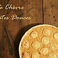 Tarte chèvre patates douces