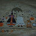 Halloween in the rain 4