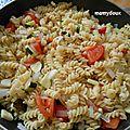 One pot pasta tomates - basilic