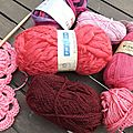 J'ai voulu essayer le <b>free</b> <b>form</b> crochet...!