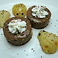 Mousse au chocolat noir ... poires souris !!!