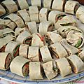 Wrap au thon épicé