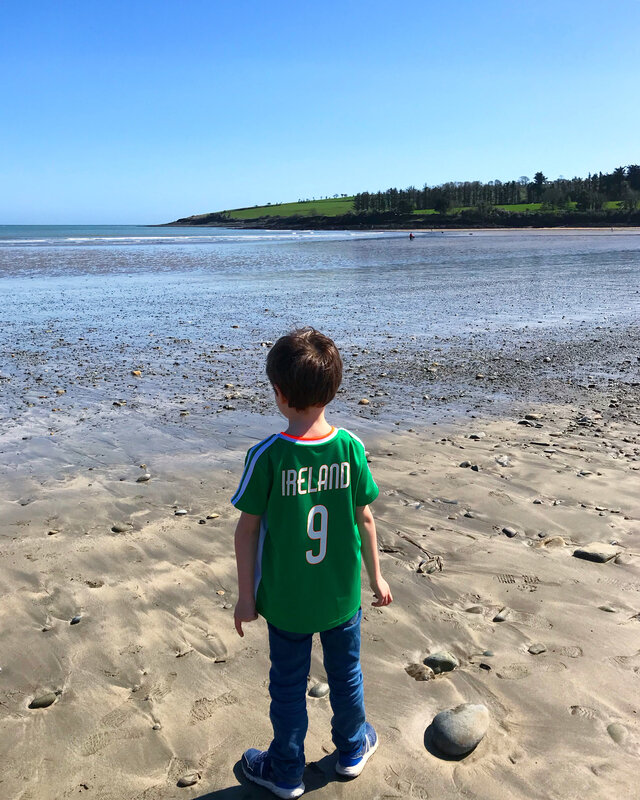 Plage de Fountainstown ©Kid Friendly