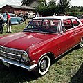 Opel rekord a 1700 coupe 1963-1965
