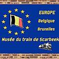 Belgique : Musée du train Scarbeek