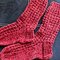 Des bas au tricot !