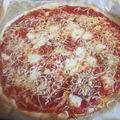 Pizza balanc de poulet/fromage/chorizo