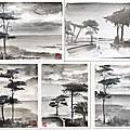 Mes peintures #confinement Mood