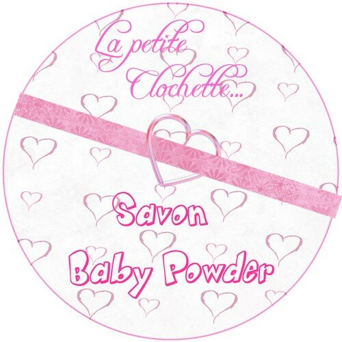 Savon Baby Powder rose