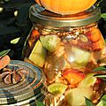 Des vertes et des pas mûres! Pickles de tomates vertes aux épices douces