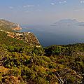 Monastère de Kira Panagia, vue sur Gioura — P1010502_copy