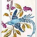 Armoire a clés Oiseau de Paradis 1