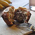 Muffins sains à la banane