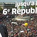 C'est de la 5ème République qu'il faut se séparer