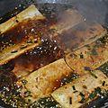 Tofu à la <b>sauce</b> <b>soja</b> façon coréenne