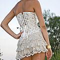 Défilé claire brandin corsets le 24 mai à kehl à la villa schmidt