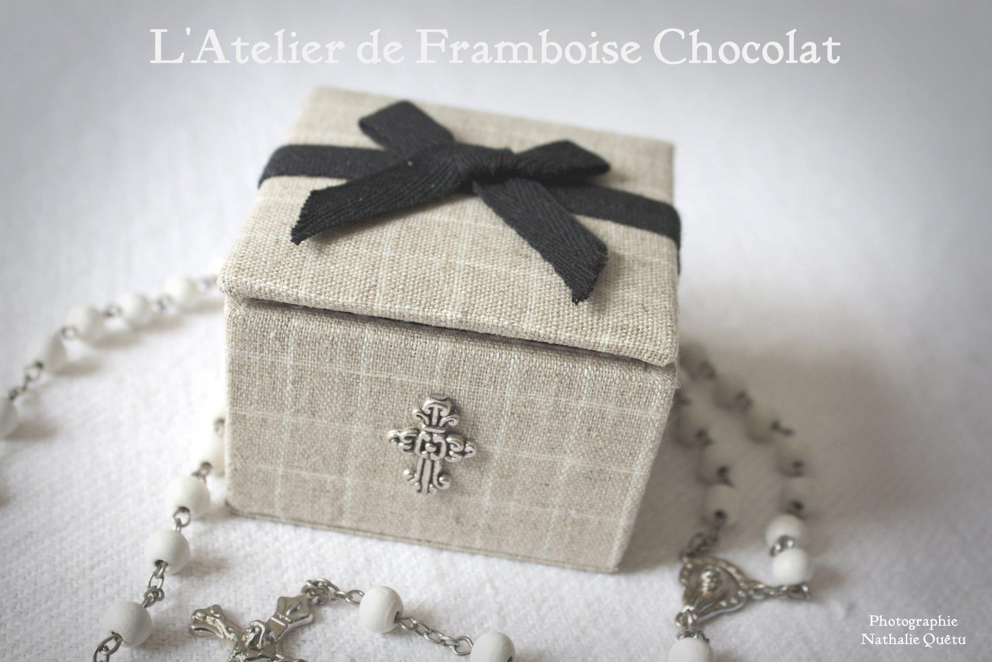 Boîte Bijoux L'ATELIER DE FRAMBOISE CHOCOLAT