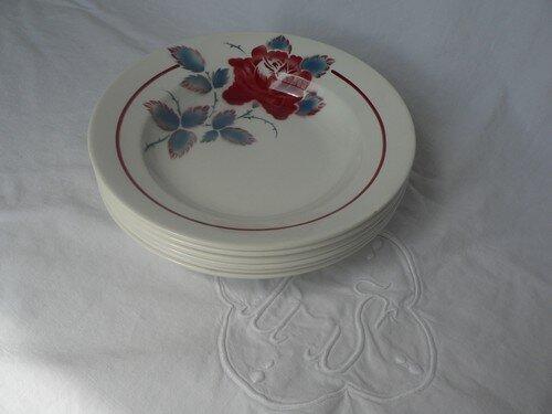Assiettes creuses Sobral diam. 23 cm