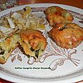 Muffins courgette-chorizo-<b>mozzarella</b>
