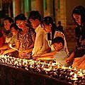 Bagan en <b>Birmanie</b> : le Festival de la pleine Lune