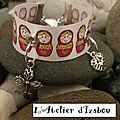 Je vous propose un <b>bracelet</b> spécial russie !