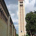 La basilique san zeno, l'extérieur