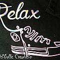 T-shirt Converse - détail