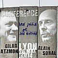 #conférence alain soral et gilad atzmon ce soir à lyon 19h00 : les juifs et les autres