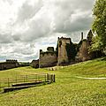 The old castle: a fantastic showcase for the Highland Games
