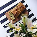 Recette// cake bio aux herbes aromatiques fraiches et roquefort