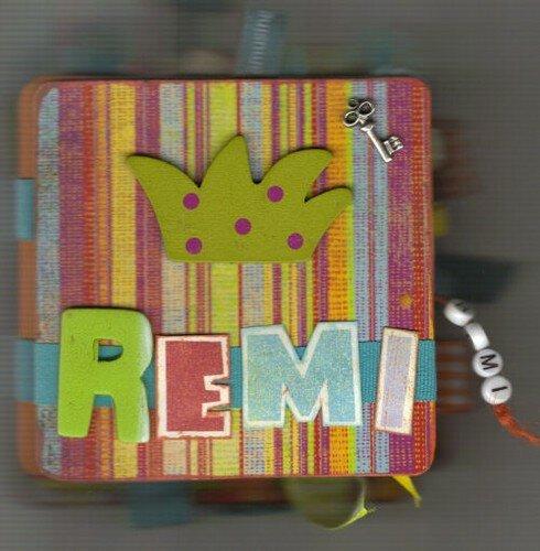 album pour mon neveu, Rémi-filou