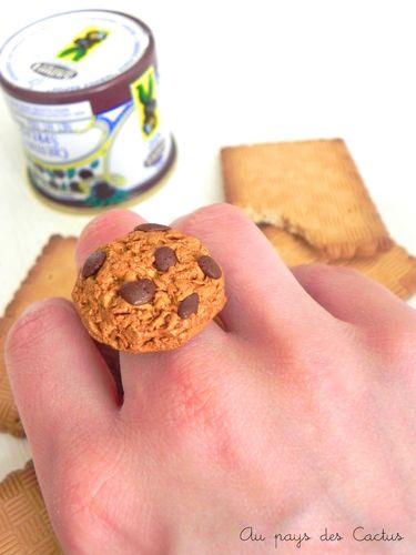 Gourmandises fimo cookie Au pays des Cactus
