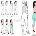 Illustration les différentes étapes de création de l'illustration