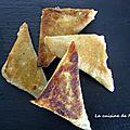 Samoussas poulet sauce abricot/oignons/pistache