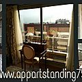 Appartement F2 standing à Paris 10ème