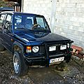 restauration pajero