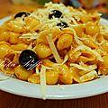 Pâtes a l'ail et au parmesan de maman / plats algeriens