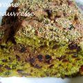 Cake betterave - algues