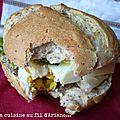 Pains aux graines pour sandwich