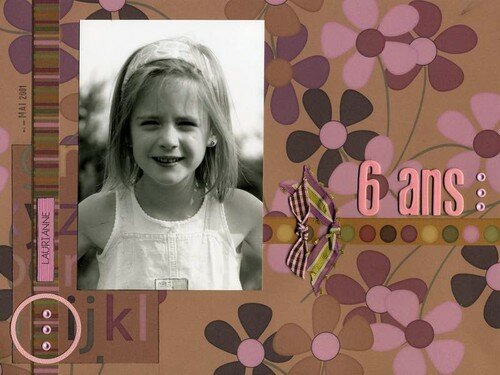 Laurianne 6 ans