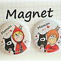 Fête des mamans ! magnets et miroir sur www.dtcie.fr <3