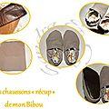 Les chaussons de mon Bibou