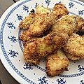 Viande : nuggets de poulet cuits au four